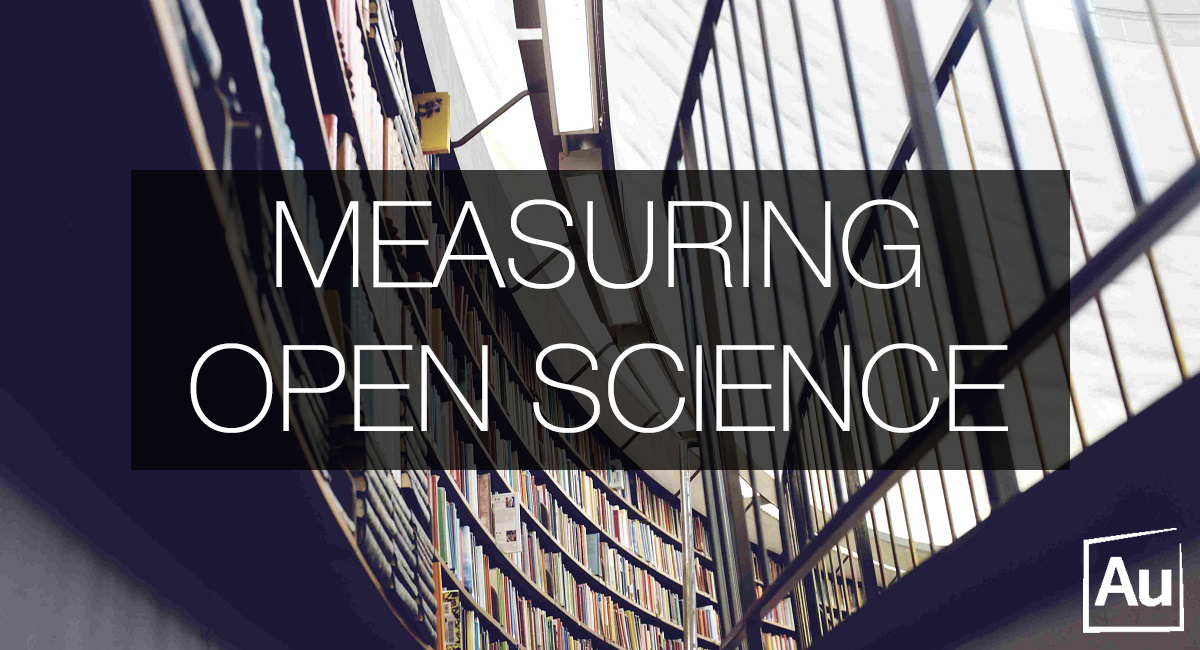 Measuring open science